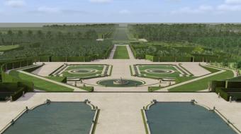 jardin à la française versailles